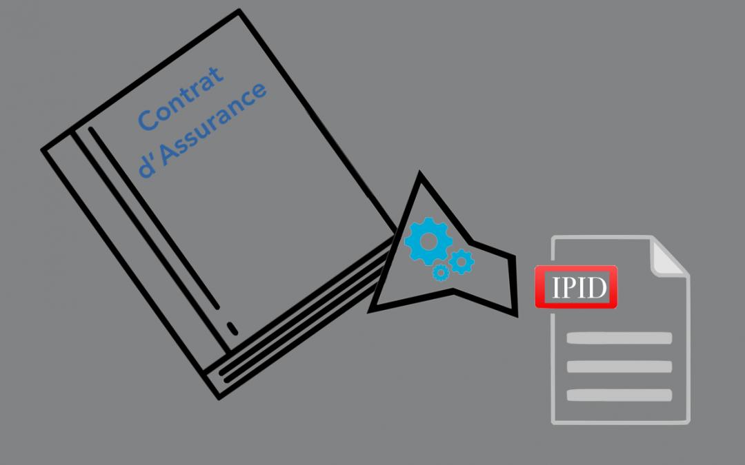 Mise en œuvre du Document d'information sur le produit d'assurance (IPID)